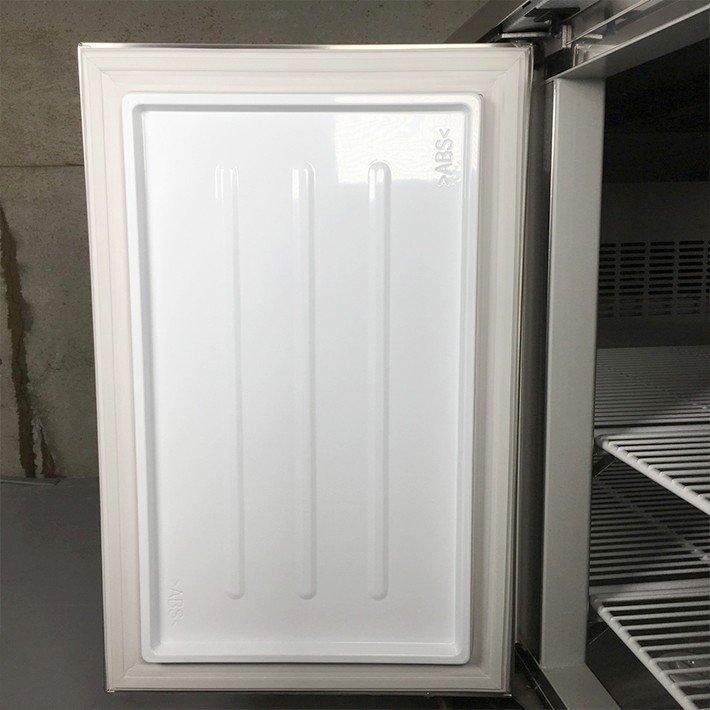 中古 厨房機器 大和冷機工業 台下冷蔵庫 6071CD EC エコ蔵くん コールドテーブル 2017年製 冷蔵 -7℃〜12℃ 定格内容積 548L