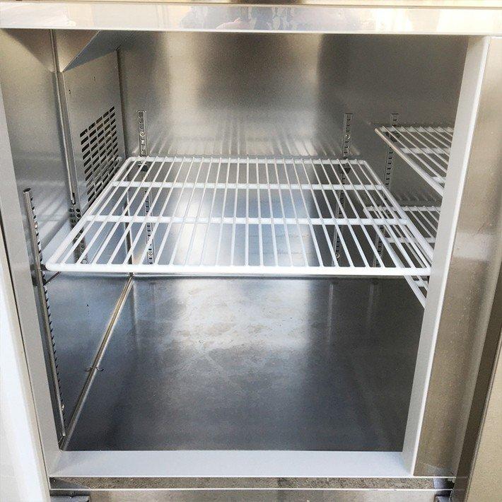 中古 厨房機器 大和冷機工業 台下冷蔵庫 6071CD EC 2016年製 幅1800 奥750 高800mm 定格内容積548L エコ蔵くん