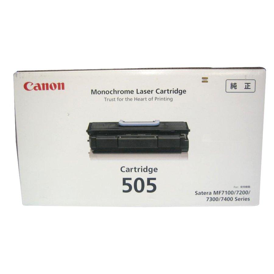 純正トナーカートリッジ キャノン Cartridge505 Satera MF7100 MF7200 MF7300 MF7400