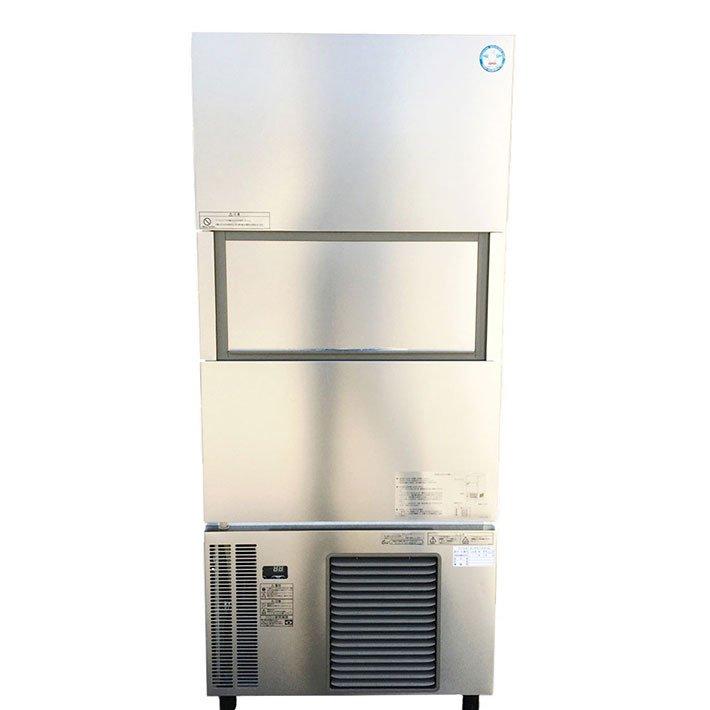 中古 厨房機器 フクシマ 2018年製 業務用大型バーチカルタイプスリム型製氷機 FIC A240KV1S 製氷能力240Kg 3相200V