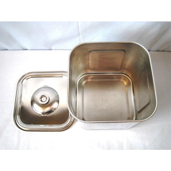 中古 厨房機器 赤川器物製作所 AG 18 8ステンレス製 角調味料入れ 5個組 調理器具
