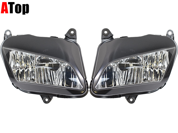 新品CBR600RR 2007〜2012 PC40 社外品 ヘッドライトユニット ヘッドライト本体 クリア