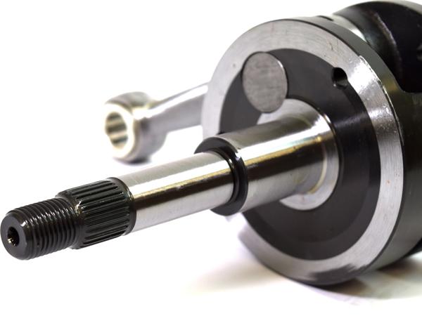 高品質 高精度 強化クランクシャフト ピストン セット ジャイロキャノピー 後期用 TA02 ジャイロX TD01 ノーマルトローク 39.3mm NSR50ピストン使用可能 ボアアップ