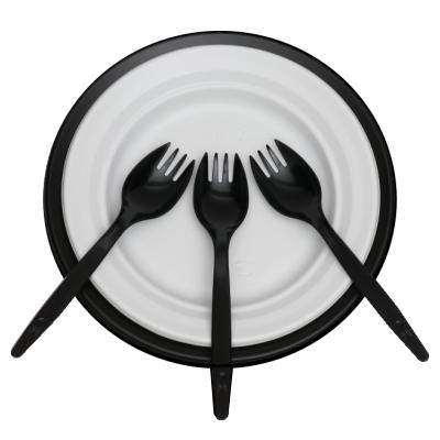 簡易食器セット オセロ【使い捨て容器×6枚・スプーンフォーク×3本】【30〜40営業日で発送予定】