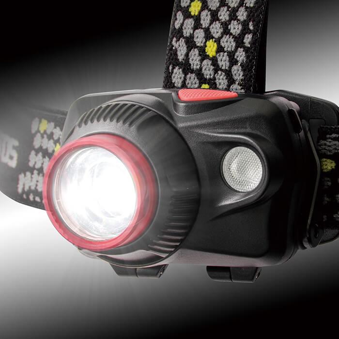 ジェントスヘッドライトWS-343HD【30〜40営業日で発送予定】