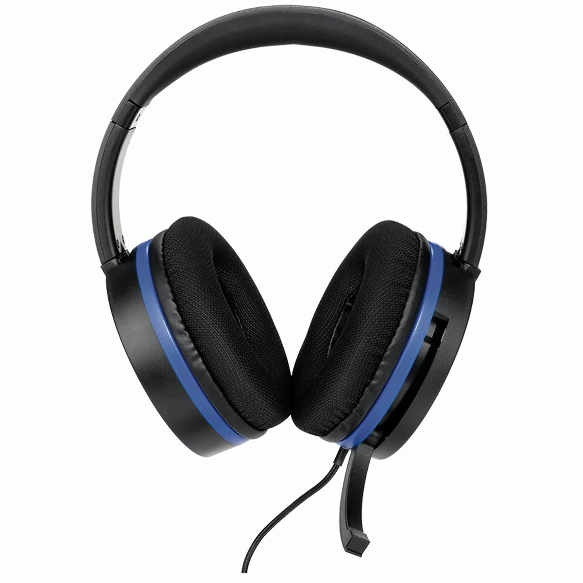 SnakeByte SONY PS4 ステレオヘッドセット HEAD:SET 4 PRO™ ヘッド:セット 4 プロ  3.5mmジャック 50mmドライバー イヤーパッド交換可能 インラインコントローラー付