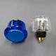 セイミツ工業 PS-14-K 差込式クリア押しボタン強化スプリング仕様30φ