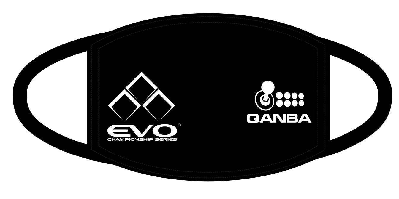 EVO x Qanba リバーシブル フェイスマスク