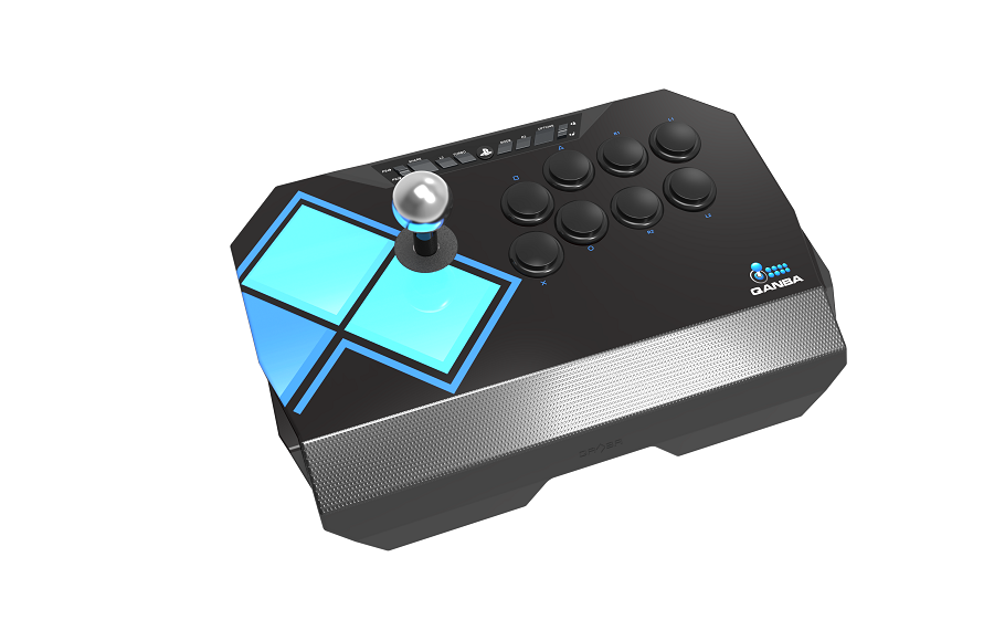 EVO Drone (エボ ドローン) アーケード ジョイスティック (PlayStation®4 / PlayStation®3 / PC対応) 世界最大の格闘ゲーム大会 EVO トーナメントスペック 三和電子ボタンとレバー装着