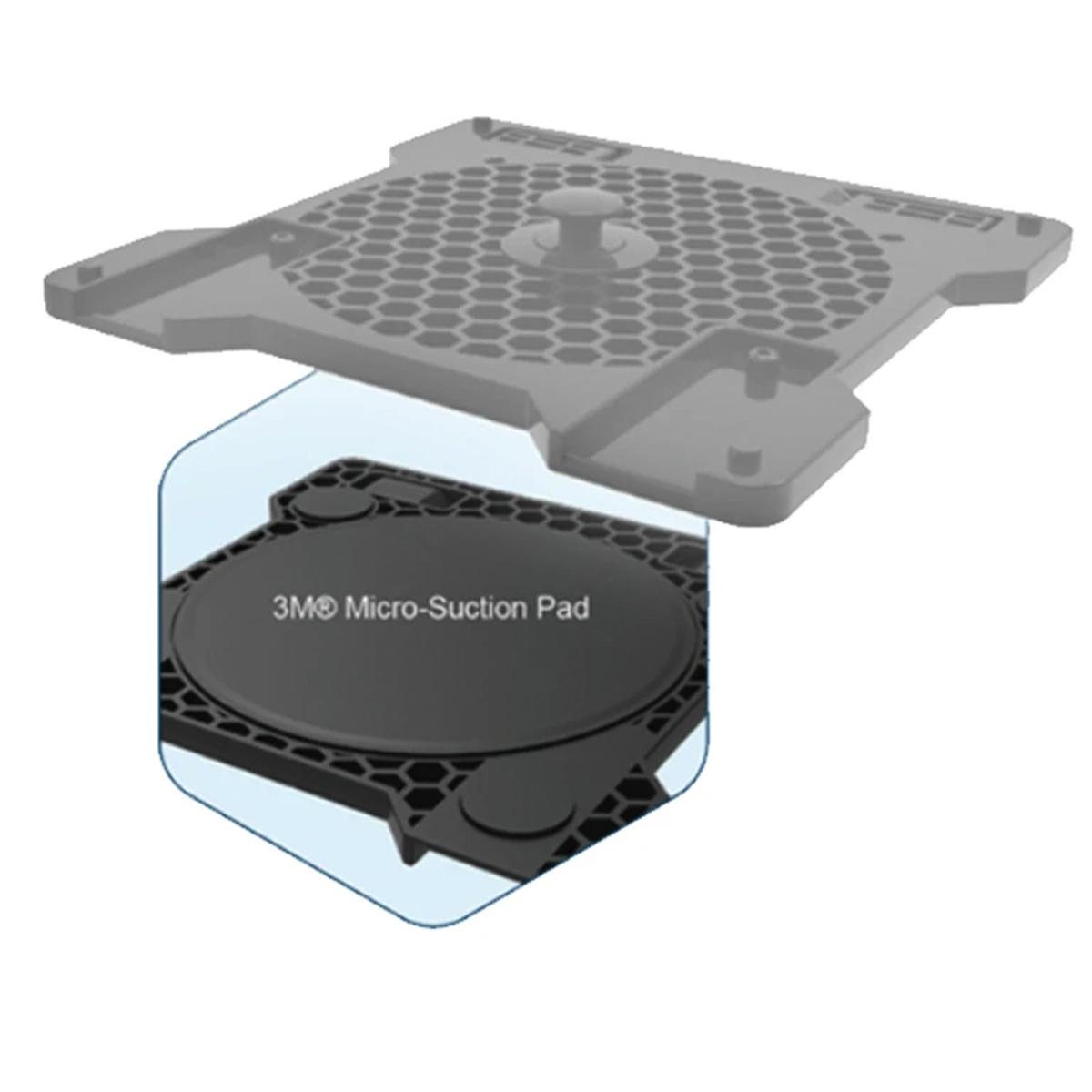 HONEYCOMB 3M MICRO-SUCTION PADS (NO PLASTIC MOUNTING PLATE) FOR UNI (THROTTLE AND YOKE) ハニカム アルファ & ブラボー 共用 3M マイクロサクションパッド