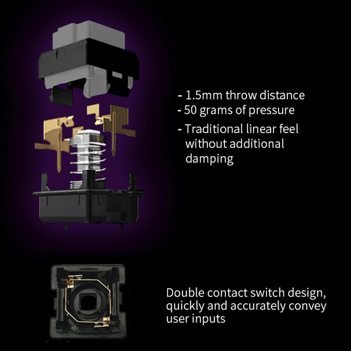 【通常】 Qanba Gravity(グラビティ)メカニカルスイッチ アーケード ボタン 30mm(ネジ式)