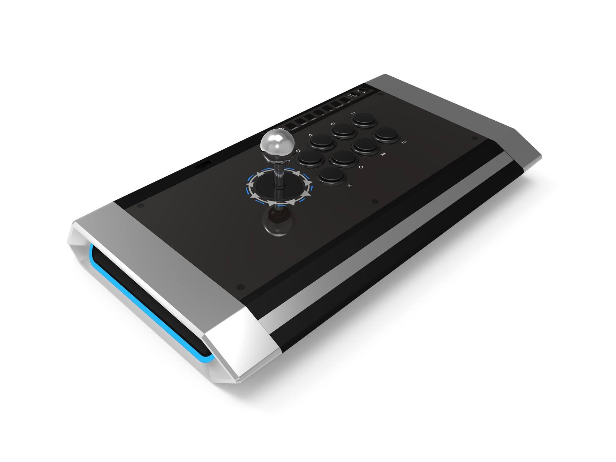 【国内正規品】 Qanba Obsidian Joystick クァンバ オブシディアン アーケード ジョイスティック (PlayStation®4 / PlayStation®3 / PC対応) ソニー公式ライセンス取得製品 三和電子製ジョイスティックレバー、押しボタンパーツを採用した上位モデル