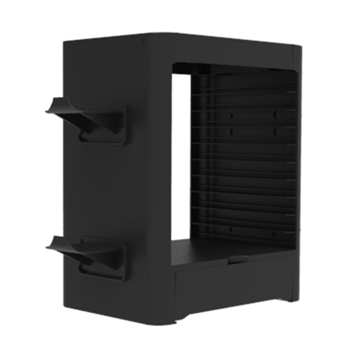 SnakeByte SONY PS5 ゲームスタンド GAMES:TOWER 5™ ゲームズ:タワー 5 コントローラーやソフトを収納