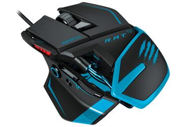 【Mad Catzセール】 RAT TE トーナメントエディション ゲーミングマウス 超軽量90g 8200dpi