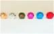 【通常】 【メタリックレバーボール付】 三和電子 基板タイプジョイスティックレバー&レバーボールセット (平鉄板 シャフトカバー ガイドプレート付)【JLF-TP-8YT-SK-x】
