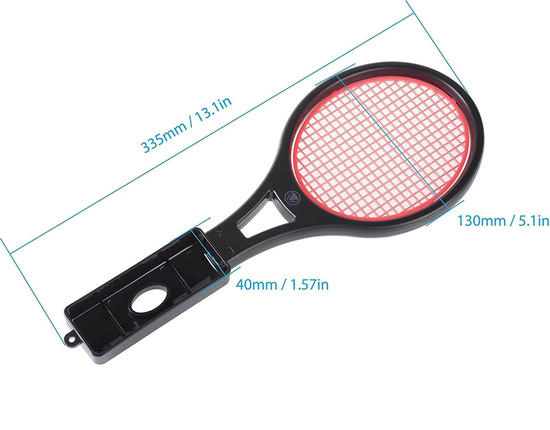 SnakeByte 任天堂 Switch ジョイコン用テニスラケット型コントローラーホルダー TENNIS:PRO™ テニス:プロ 簡単取付 軽量 ストラップ付