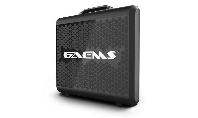 GAEMS ゲームス G170FHD センチネル ポータブル ゲーミングモニター TVゲーム機と一緒に持ち運んで、移動先で簡単にゲームが楽しめる 薄型 17.3インチ フルHD対応 1080p LED ディスプレイ ステレオスピーカー付
