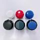 【エラストマー静音】ハメ込み式押しボタン30φ (ビデオゲームボタンサイズ)4個入り 1セット【OBSFE-30-】