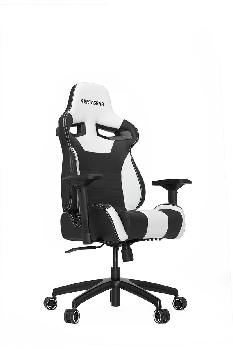 VERTAGEAR (ベルタギア) レーシングシリーズ ゲーミングチェア ブラック/レッド VG-SL4000_RD ワイドバックレストのエルゴノミクスデザイン採用