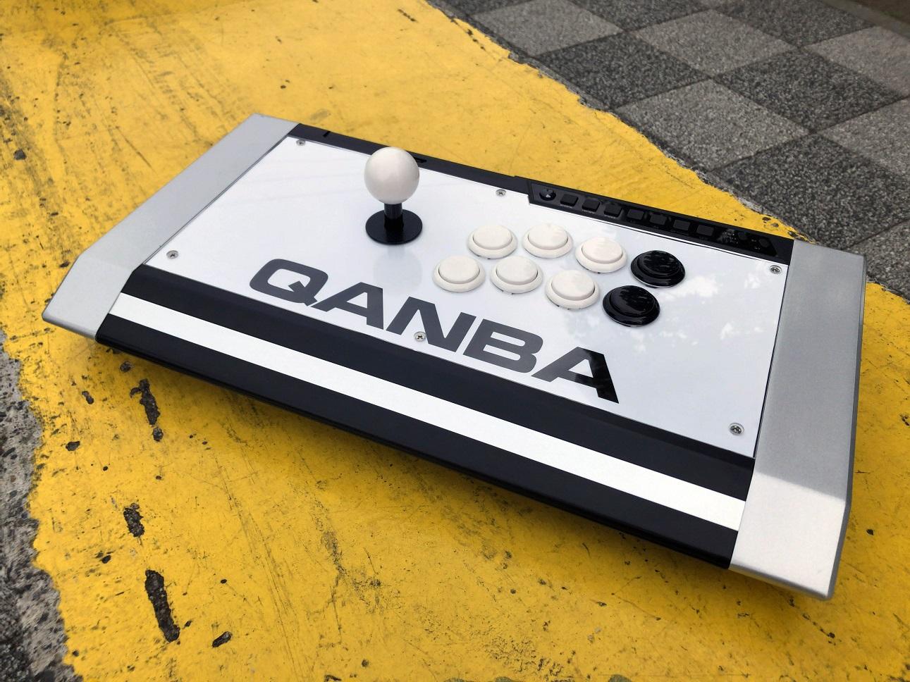Qanba Obsidian (オブシディアン) アーケードジョイスティック用 標準レイアウト クリアパネル