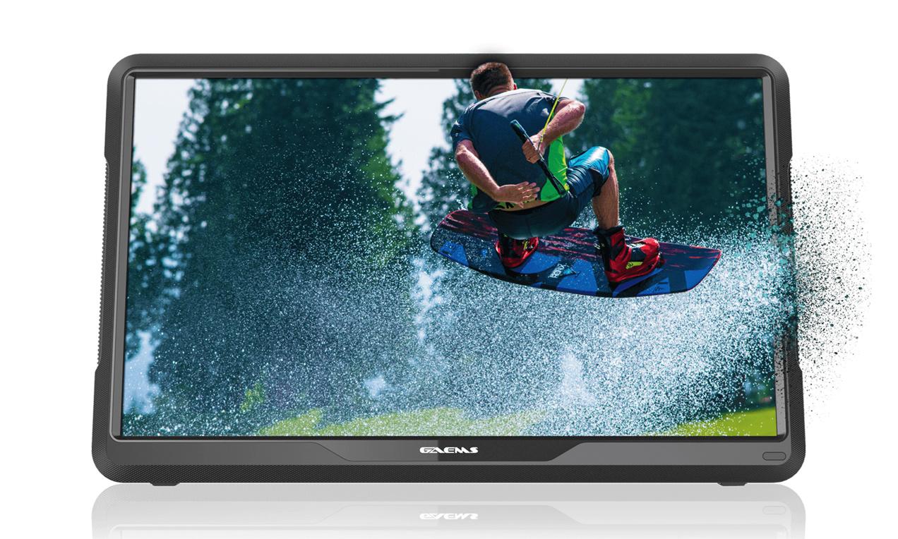 GAEMS ゲームス M155 ポータブル ゲーミングモニター 1080p FHD フルHD対応 1080p LED ディスプレイ