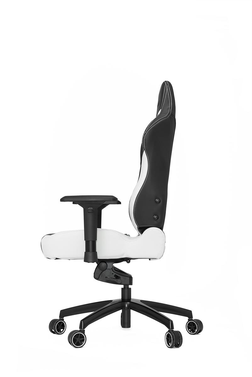 VERTAGEAR (ベルタギア) レーシングシリーズ ゲーミングチェア ブラック/ホワイト VG-PL6000_WT 追加されたパッドと余裕の調節機能で、頭から腰椎まで体全体の骨格を快適に支えるエルゴノミクスデザイン