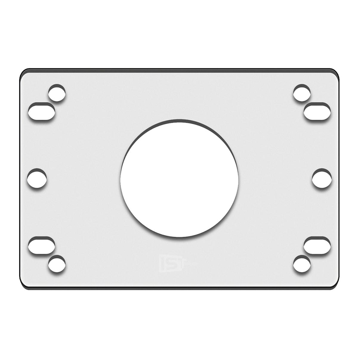 IST アクリルブラケット 三和電子/韓国レバー用 レバーの取り付け高を変更するプレート