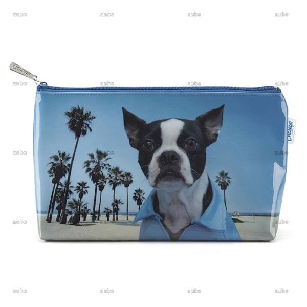 キャッツアイロンドン Beach Dog Wash Bag ボストンテリア