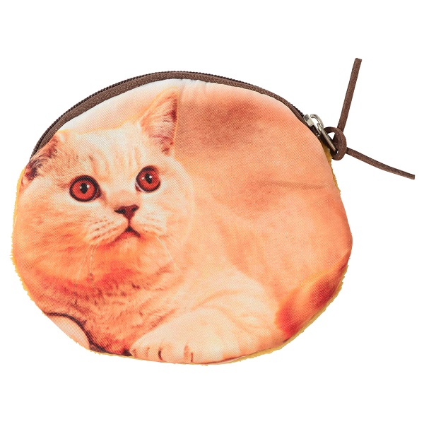 猫 アンティーク調マルチトレー Smart 長方形選べるネコのポーチ付き