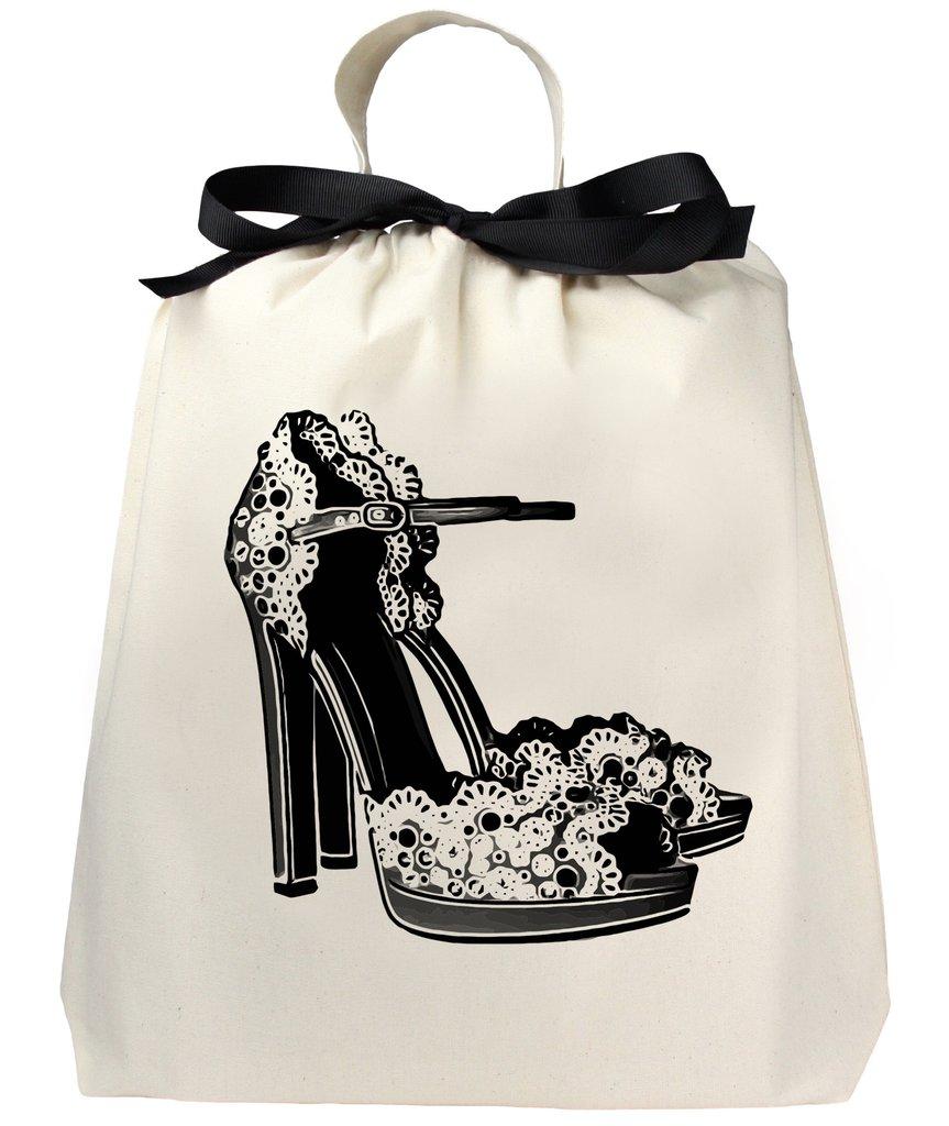 bag-allバッグオール オーガナイジングバッグ  Floral High Heels 収納袋