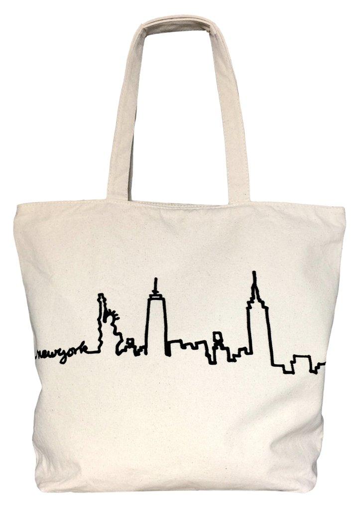 bag-all バッグオール Manhattan Skyline Tote トートバッグ 大きめ