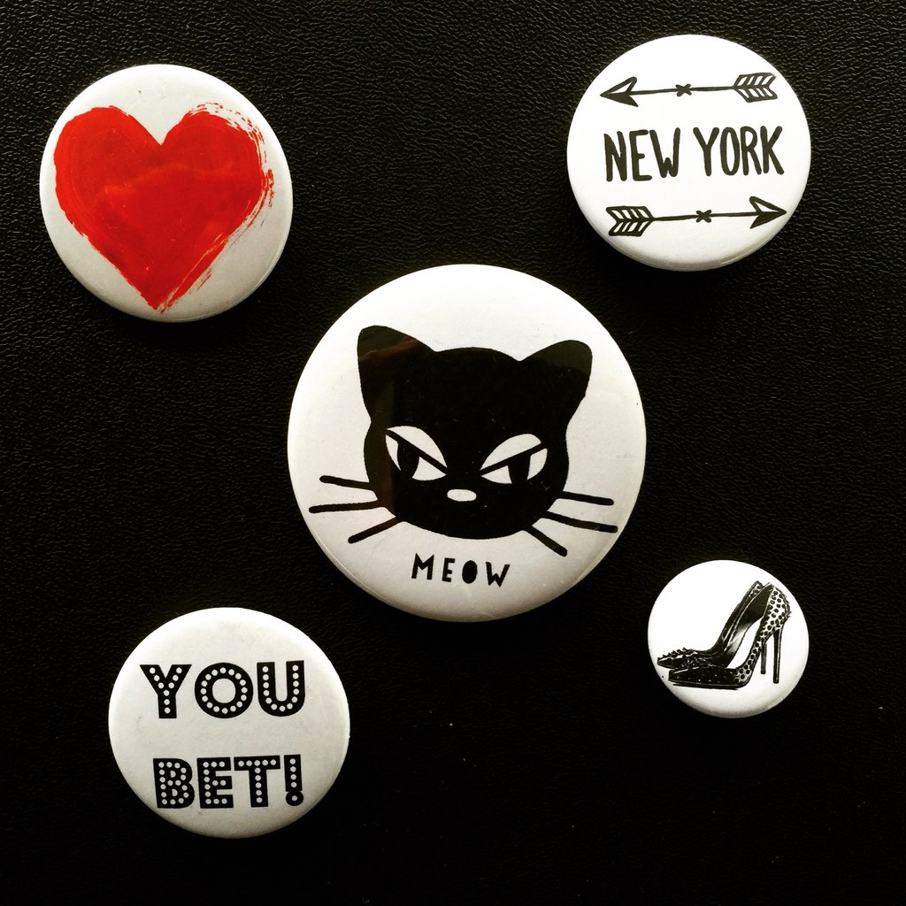 bag-all     ピンバッジ5個セット Pin 5-pack Meow
