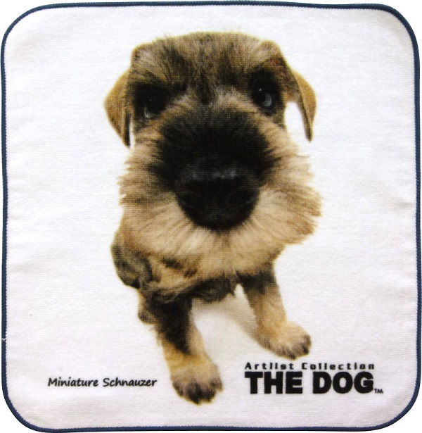THE DOG  ミニチュアシュナウザータオル