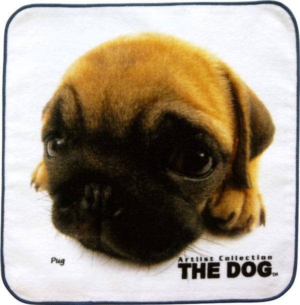 THE DOG  パグタオル