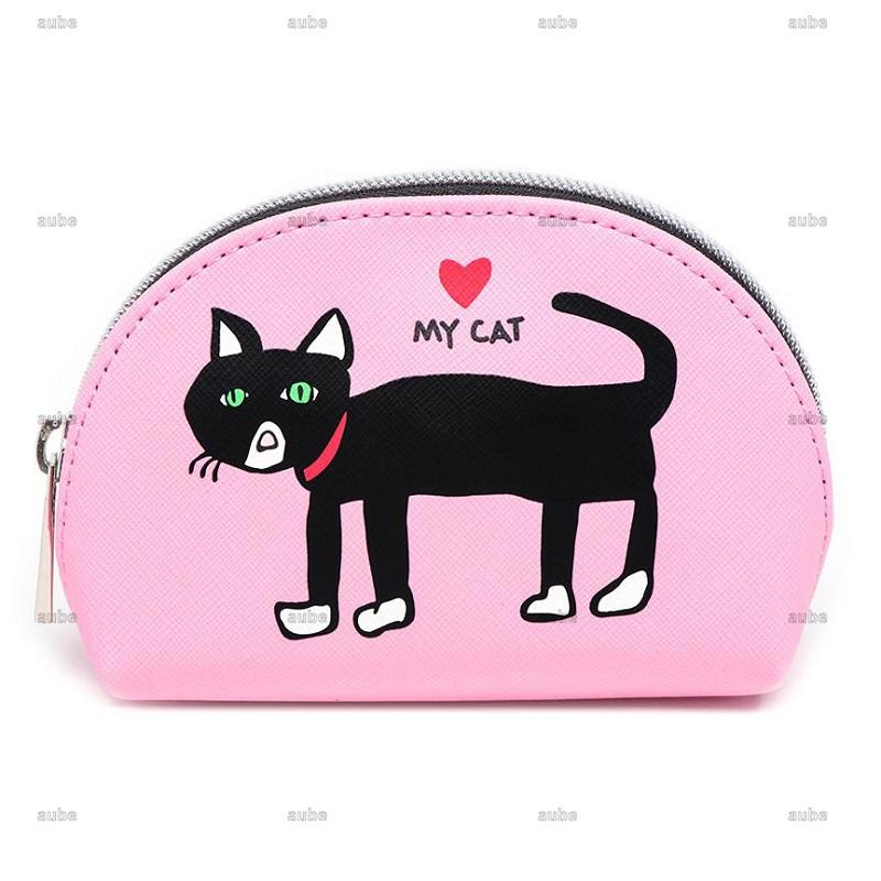 【Marc Tetro】 マークテトロ  Cat Mini Cosmetic Case