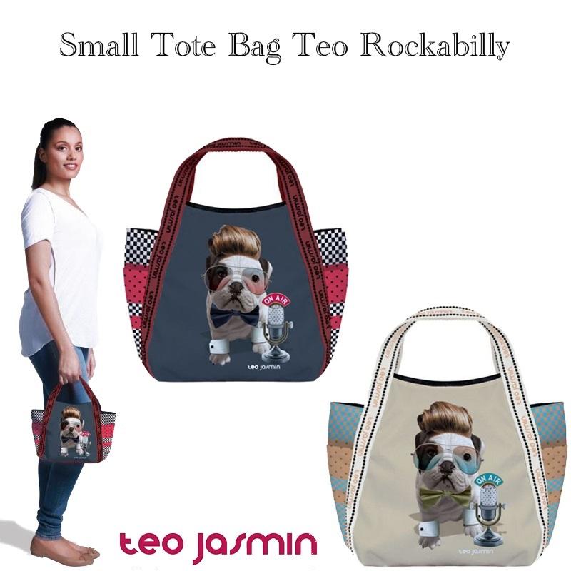 teojasmin/テオジャスマン Tote bag Teo Rockabilly スモールトートバッグ