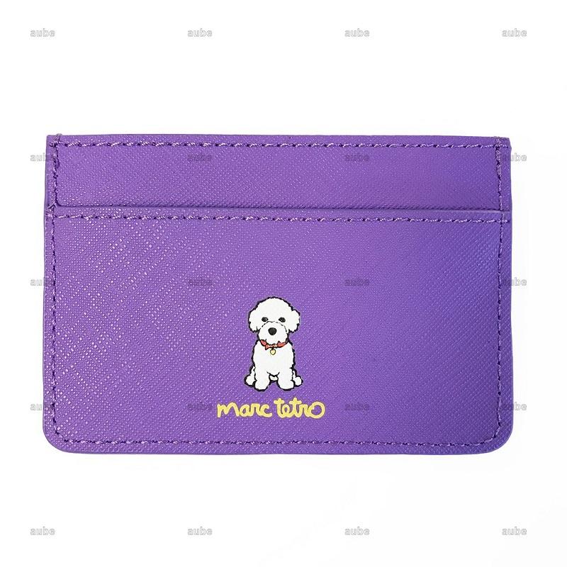 【Marc Tetro】 マークテトロ カードホルダー ビションフリーゼ Bichon Cardholder