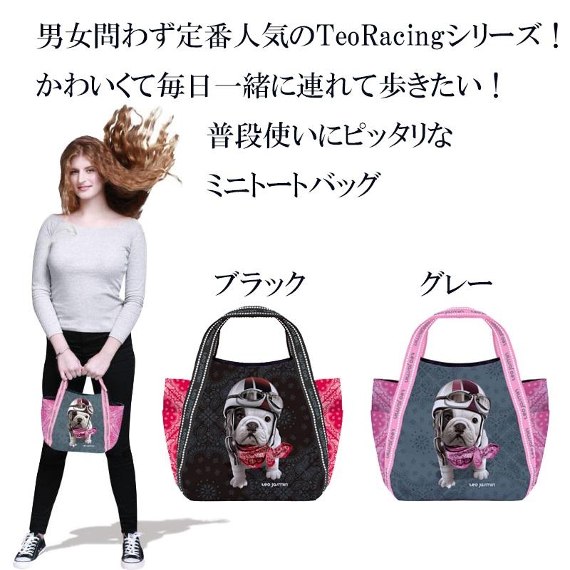 【teojasmin/テオジャスマン】 スモールトートバッグ Small Tote Bag Teo Racing