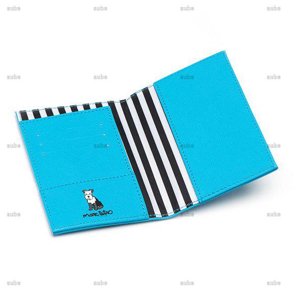 【Marc Tetro】  マークテトロ シュナウザーパスポートケース Schnauzer Passport Cover