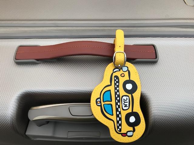 【Marc Tetro】 マークテトロ ラゲージタグ Taxi Luggage Tag