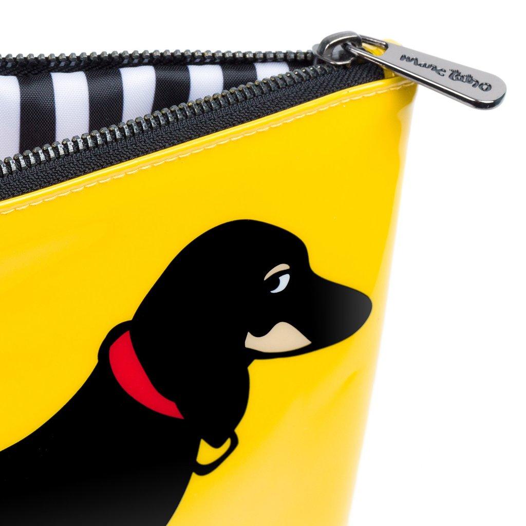 【Marc Tetro】 マークテトロ  ダックス スモールポーチ DACHSHUND Cosmetic Bag