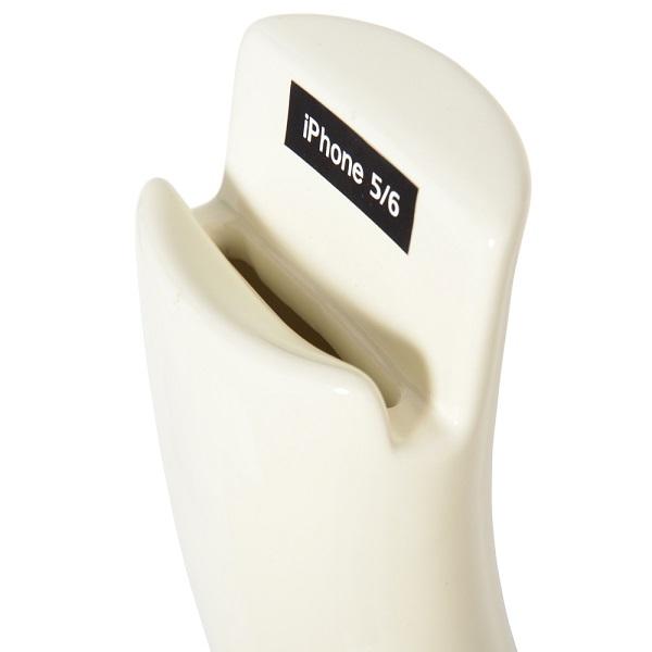 展示品 陶器エコスピーカー  サックス型スピーカーfor iphone