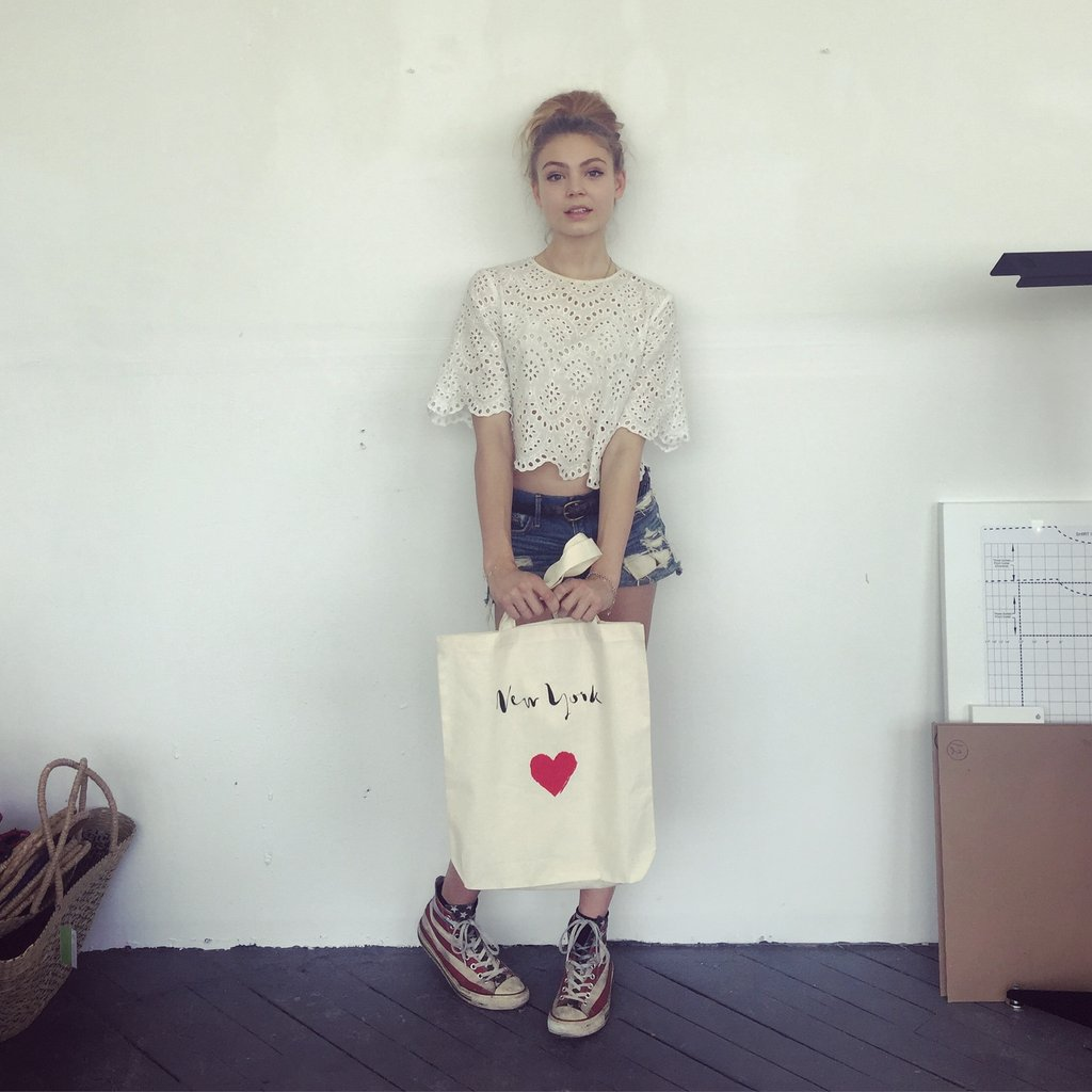 bag-allバッグオール New York Heart Tote トートバッグ