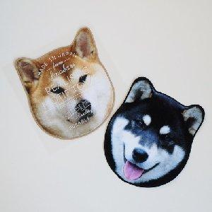 リアルモチーフタオル(from 今治)  柴犬