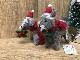 羊毛フェルトToy  シュナウザー クリスマス クリスマスオーナメント
