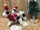 羊毛フェルトToy  ジャックラッセルテリア  クリスマスオーナメント