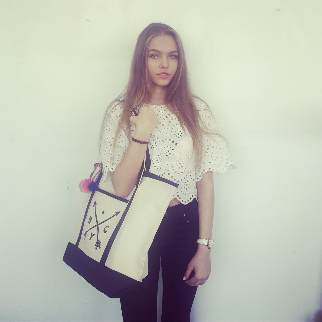bag-allバッグオール NYC Cross Arrow Large Tote トートバッグ 大きめ