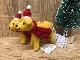 羊毛フェルトToy ゴールデンラブラドール イエローラブ クリスマスオーナメント