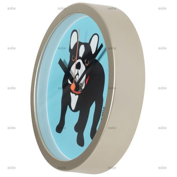 【Marc Tetro】  フレンチブルドッグ Clock-10inch