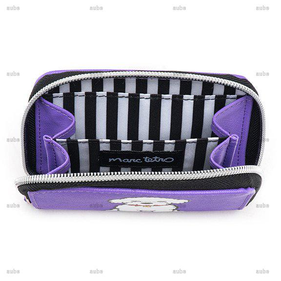 【Marc Tetro】 マークテトロ スモールウォレット ビションフリーゼ Bichon Zipper Wallet- Small